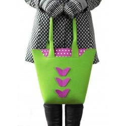 BigBag - Wool Felt Bag - Green