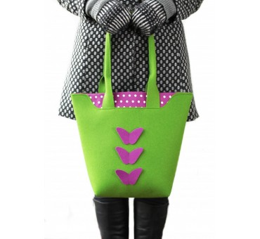 BigBag - Wool Felt Bag - Green