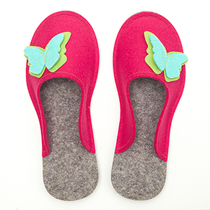 Women's Wool Felt Slippers
