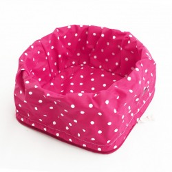Bread Basket - Dotty Pink