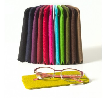 Eyeglass Wool Felt Case