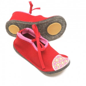 Toddler Wool Felt Slippers