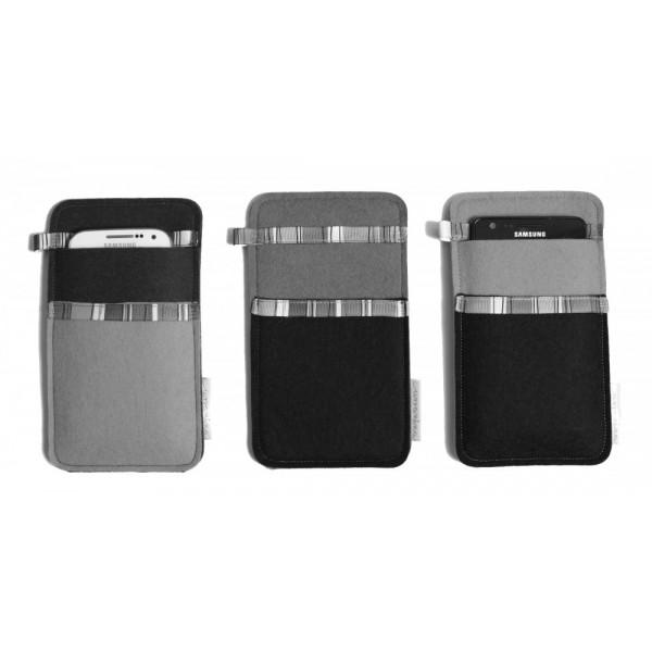 huge discount a138e 3a953 Small Smartphone Wool Felt Case - CUSTOM MADE