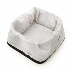 Bread Basket - Dotty White/Black