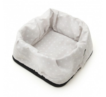 Bread Basket - Dotty White/Black