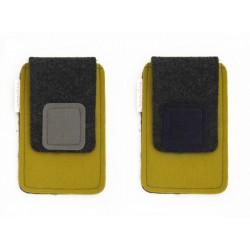 Small Smartphone Wool Felt Case - M-MUSTARD
