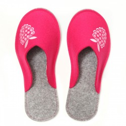 Women's Wool Felt Slippers - Malinca