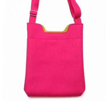 Wool Felt Bag - Pink blank