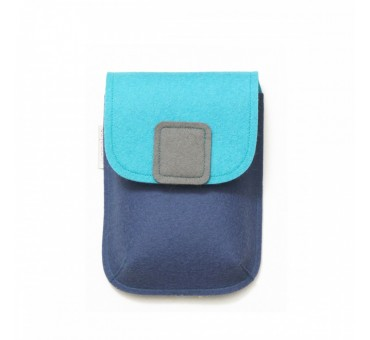 PocketBag - Wool Felt Bag - BLUE JEANS