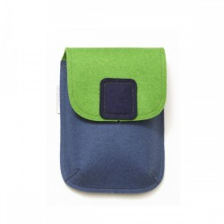 PocketBag - Wool Felt Bag - JEANS GREEN