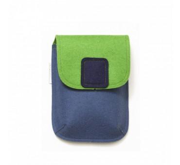PocketBag - Wool Felt Bag - JEANS GREEN