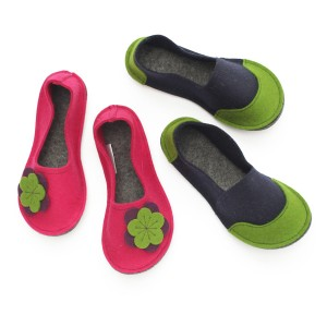 Kids Wool Felt Slippers