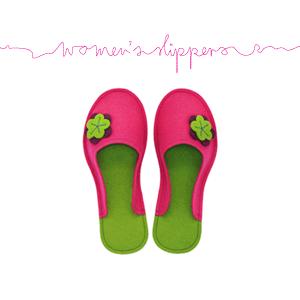 Women's Wool Felt Slippers
