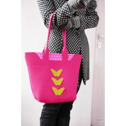 BigBag - Wool Felt Bag - Pink