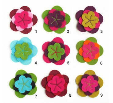 Triple Flower Pin