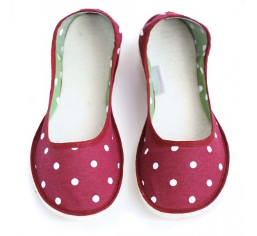Ballerinas Dotty Red