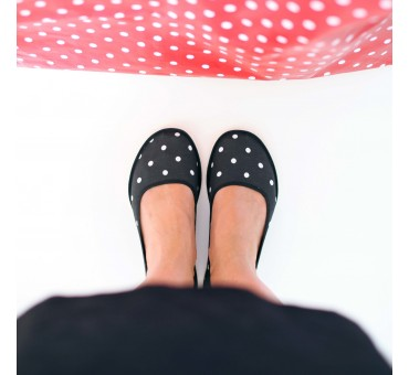 Ballerinas Dotty Black