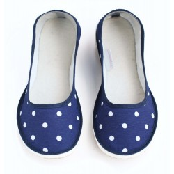 Ballerinas Dotty Blue