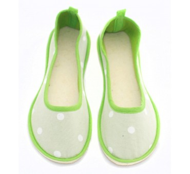 Ballerinas Dotty Green