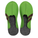 Men's Wool Felt Slippers - GREEN