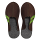 Men's Wool Felt Slippers BROWN
