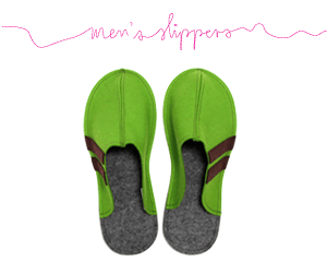 Men's Wool Felt Slippers (9)